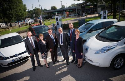 UK 'RAPID CHARGE NETWORK' PROJECT GIVES MULTI-STANDARD ELECTRIC VEHICLE QUICK CHARGING NATIONAL COVERAGE