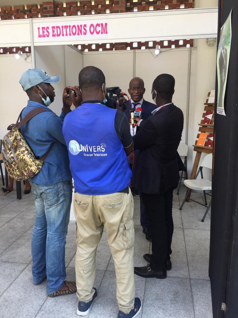 Les éditions OCM invitent le bruxellois Cheik FITA au salon International du Tourisme à Kinshasa