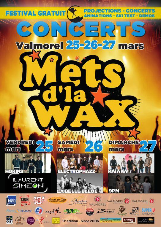 11ème Edition Festival Mets d'la Wax Valmorel du 25 au 27 mars - Festival du film sports de montagne !