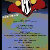 Soirées Cerises - La programmation du 23 au 28 octobre inclus