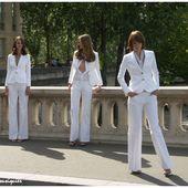 Blanc, Charme, Beauté, Glamour, un trio BCBG de choc - Images du Beau du Monde