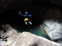 Canyon de l'Infernet: et on se jette à l'eau !