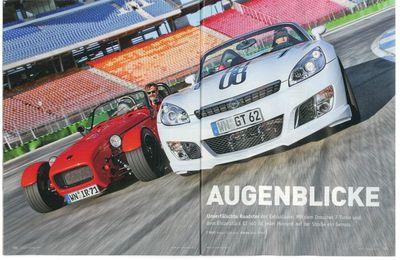 Auto-Bild Vergleichstest Irmscher 7/Irmscher GT Jahr 2010