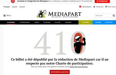 Covid-19, la désinformation de Laurent Mucchielli et Mediapart... et le CNRS