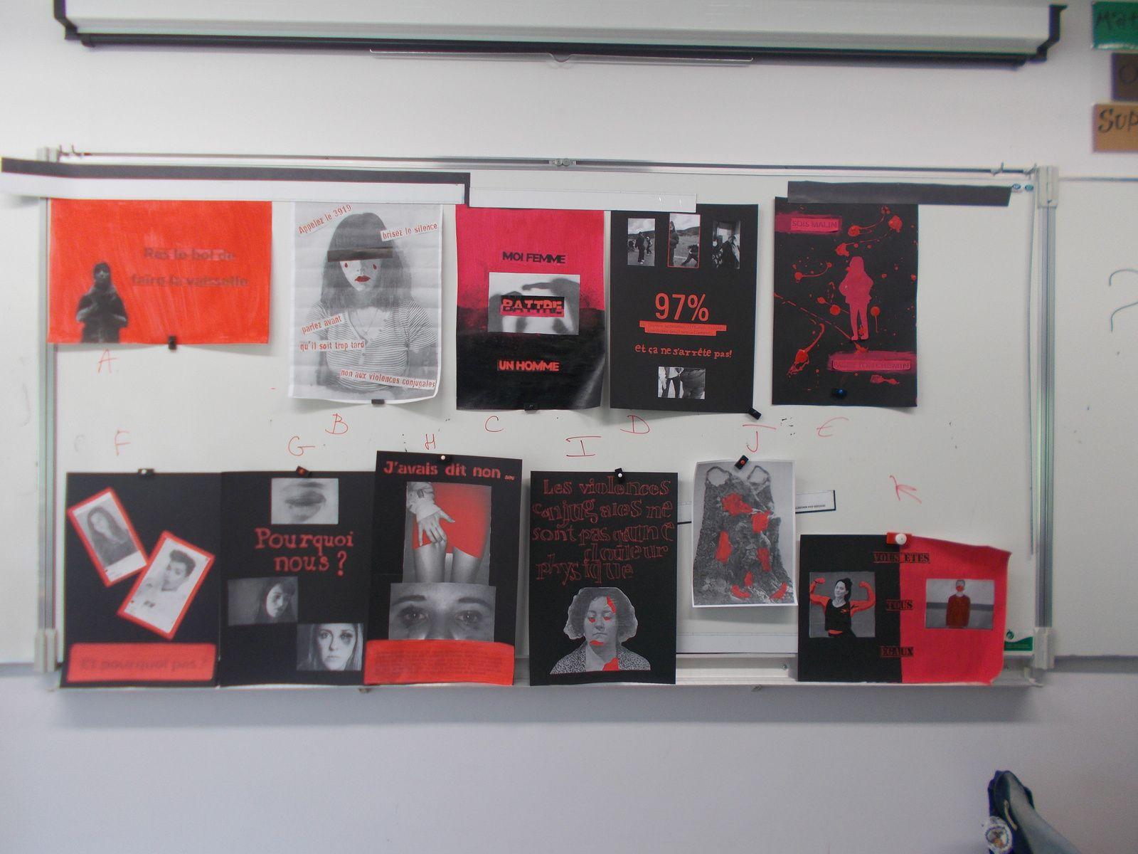 Charte graphique 3eA couleur : noir + rouge typo : stencil army ou type writer éléments graphiques : photo