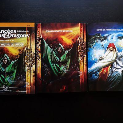 "Les restaurations du dragon : AD&D ""Écran du maître de donjon"""