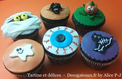 Mes cupcakes halloween version 2011