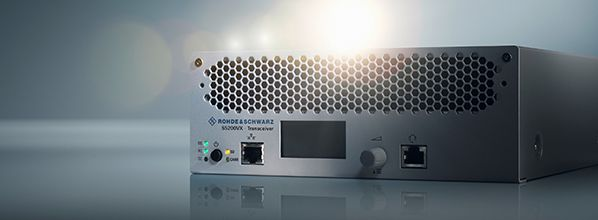 World premiere - the most innovative ATC radio with the highest degree of security: R&S Series5200