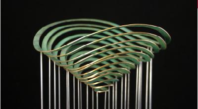 Manon Damiens sculpteur métal lauréate du concours ateliers d'art de France en région Occitanie