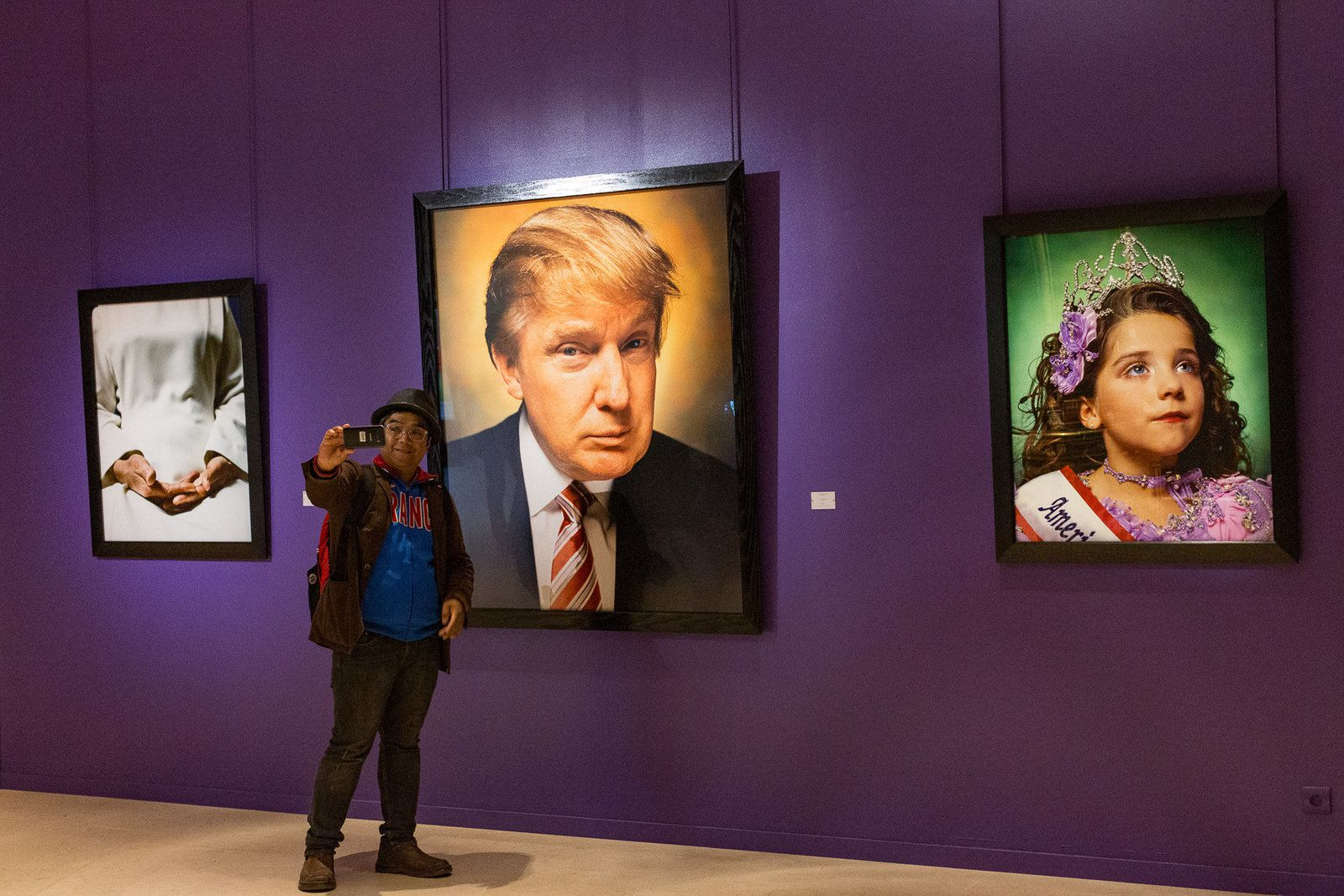 selfie - Donald Trump - exposition photographique - humour