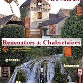 Rencontres de Chabretaires réussies à Condat-sur-Vézère