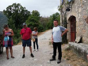 Première visite de terrain pour la commission Patrimoine de la Mairie de Castellane