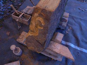 Sculpteur sur bois, atelier décoration d'Aurélie et patisseries de Laurent