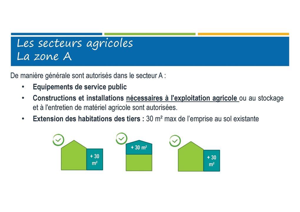 Présentation du projet de PLU de la commune de St Laurent de la Prée
