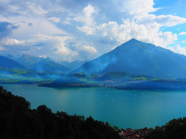 Le lac de Thoune (Thunersee)