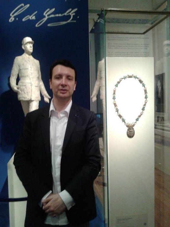 2013: Cinquantenaire de la création de l'Ordre National du Mérite par le général de Gaulle.
