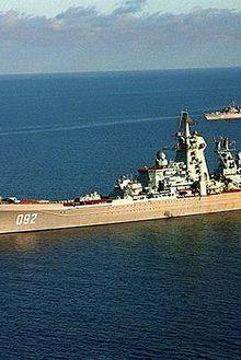 La Marine russe va remettre en service deux autres croiseurs nucléaires.