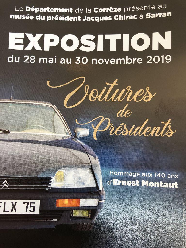 Musée Chirac autos présidentielles