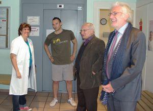 Visite de la clinique de Villecresnes