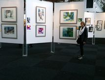 Ma participation au salon d'aquarelle de Belgique