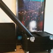 Maquina Lanza Papeles De 2000w Maxi Blower Light System - $ 16.532,00