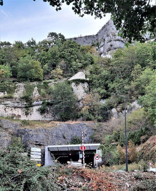 Vues de la citadelle de Besançon.