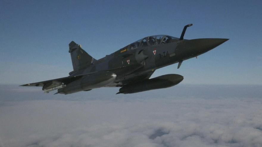 Crash d'un mirage 2000 D dans le Jura