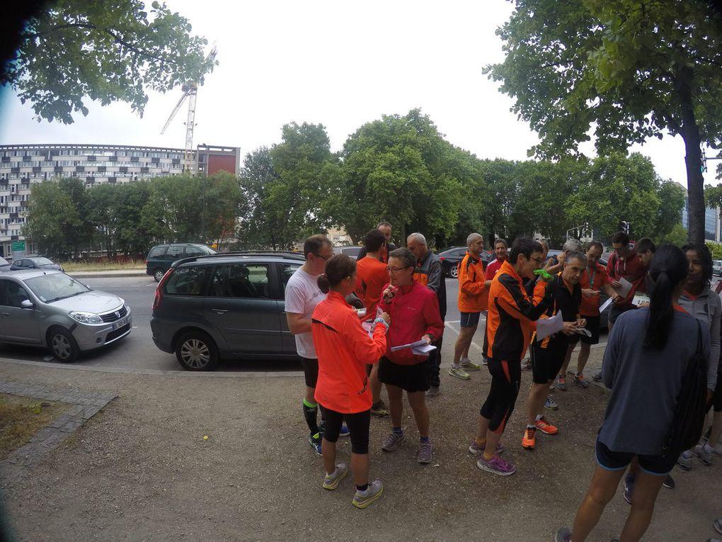 Relais 4x5 km Créteil 21 juin 2015