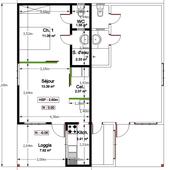 Location appartement Cayenne T2 sur commune Remire Montjoly (Guyane) - location-logement-meuble.over-blog.com