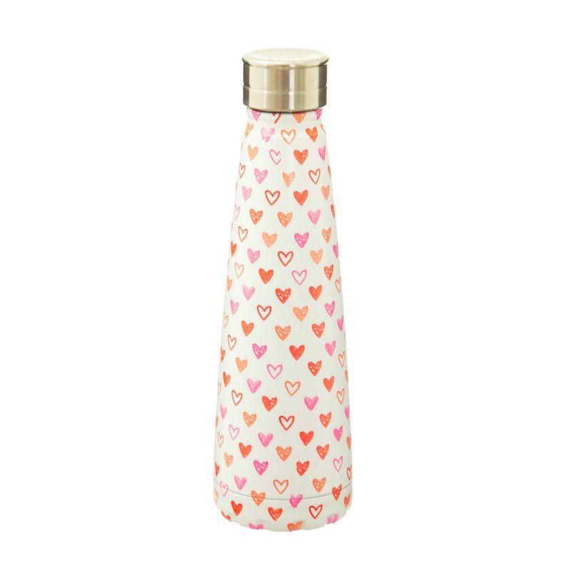gourde bouteille thermos coeurs