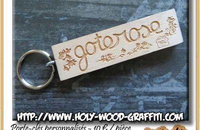 Porte-clés personnalisé pour le chalet de montagne Goterose