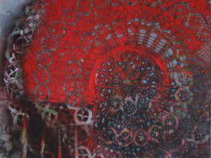 Série végétal, 2015 HUILE SUR TOILE 92 x 73 cm