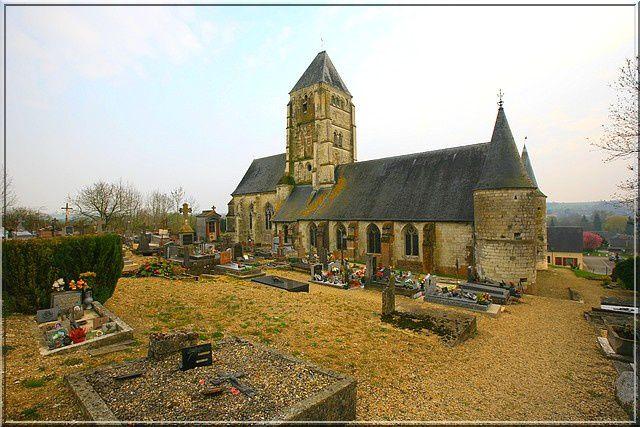 Diaporama église fortifiée de Chaourse