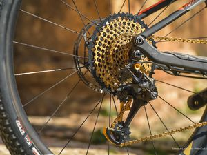 Nouvelle transmition Sram Eagle 12 vitesses.