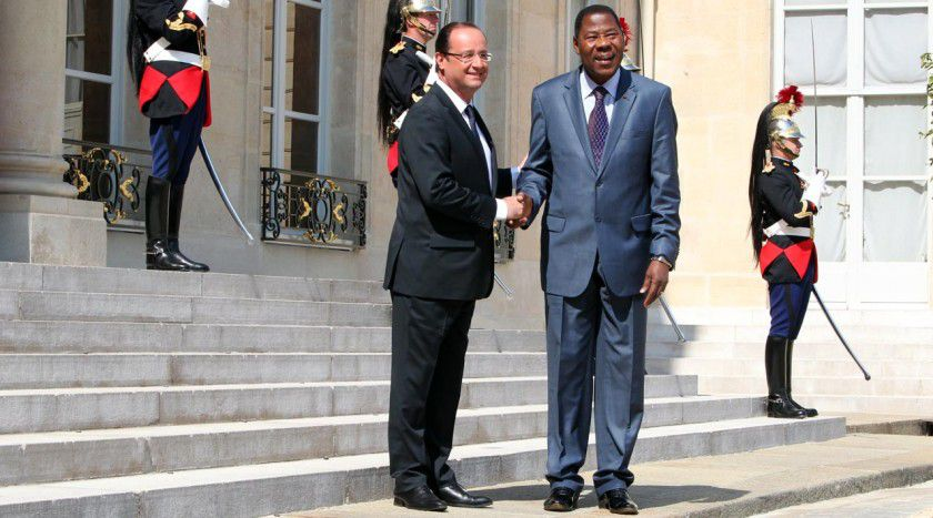 Première visite officielle d'un Président de l'Afrique susaharienne en France depuis l'élection du Président Français, François HOLLANDE