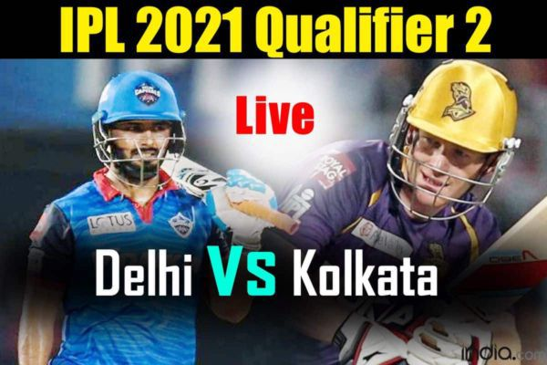 LIVE IPL 2021 DC vs KKR Live Cricket Score, IPL Live Match Qualifier 2 Latest Updates: Marcus Stoinis Departs; Kolkata Knight Riders Choke Delhi Capitals in Middle Overs; Shikhar Dhawan Key For DC