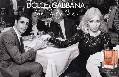 Pub d'autrefois : 2018, Emilia Clarke chante 'Quando' dans la pub Dolce & Gabbana