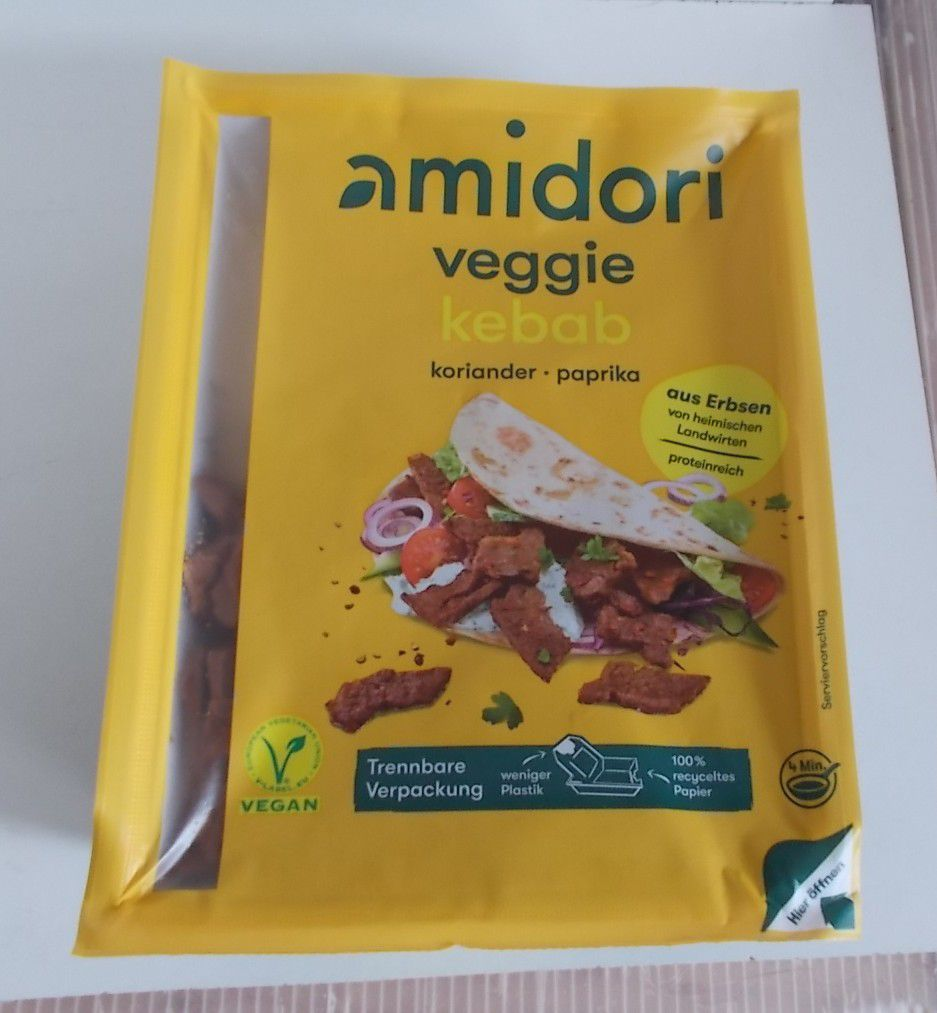Amidori Veggie Kebab Koriander Paprika vegan