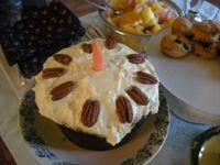 Carrot Cake .