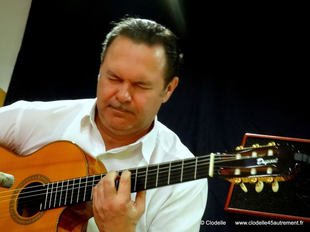 RAPHAEL FAYS, virtuose de la guitare flamenca en CONCERT à GERMIGNY DES PRES le 31 JUILLET 2016
