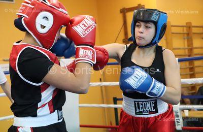 La boxe éducative féminine départementale était en vedette ce samedi