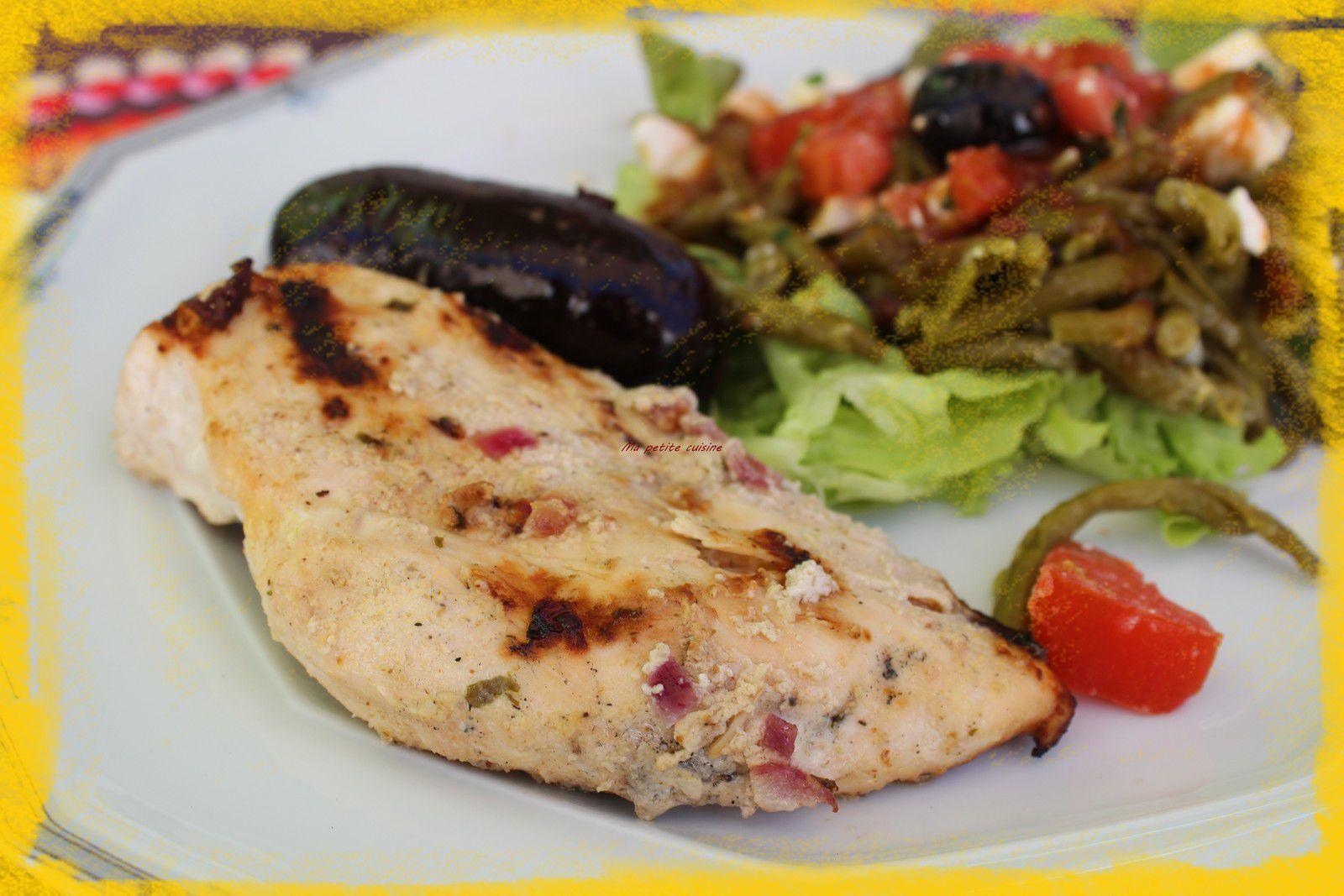 Marinade pour blanc de poulet au barbecue