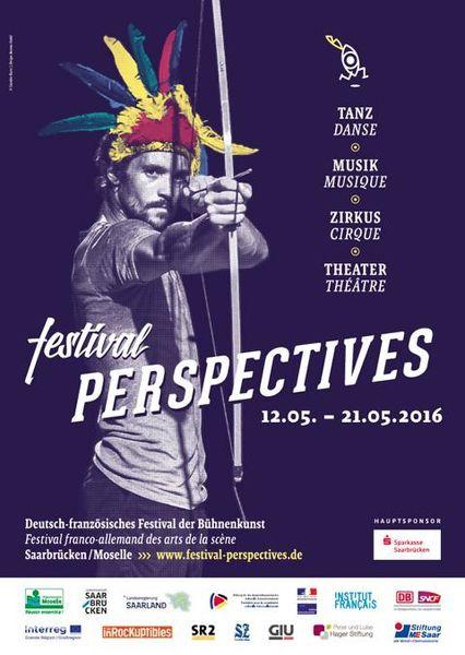 Saarbruck Festival Perspectives  du 12 au 21 Mai