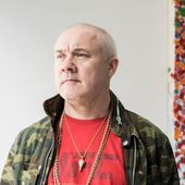 Damien Hirst's Latest Conceptual Feat? Painting the Canvases Himself