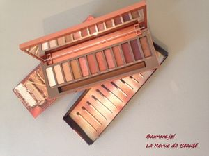 Test Produit: La Palette Naked heat de Urban Decay