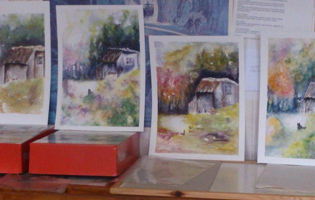 Reprise des cours et ateliers d'aquarelle