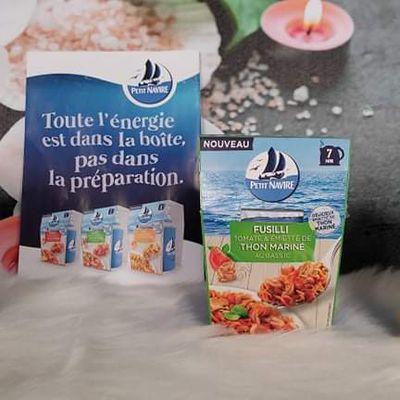 Repas express avec du thon mariné
