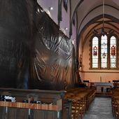 Deux mois de travaux, au moins, à l'église Sainte-Claire de Penhars - Penhars Infos Quimper