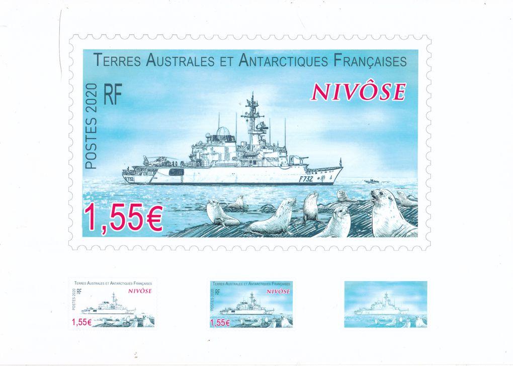 La photo du bateau et les trois maquettes proposées par Line Filhon. Maquette définitive du 9 mai 2019 et détail de s 3 états.