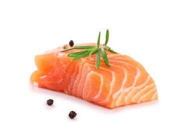 Pavé de saumon à l'italienne